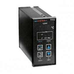Another Version – T112  Unit with one Pt100 input and two Ptc's series inputs